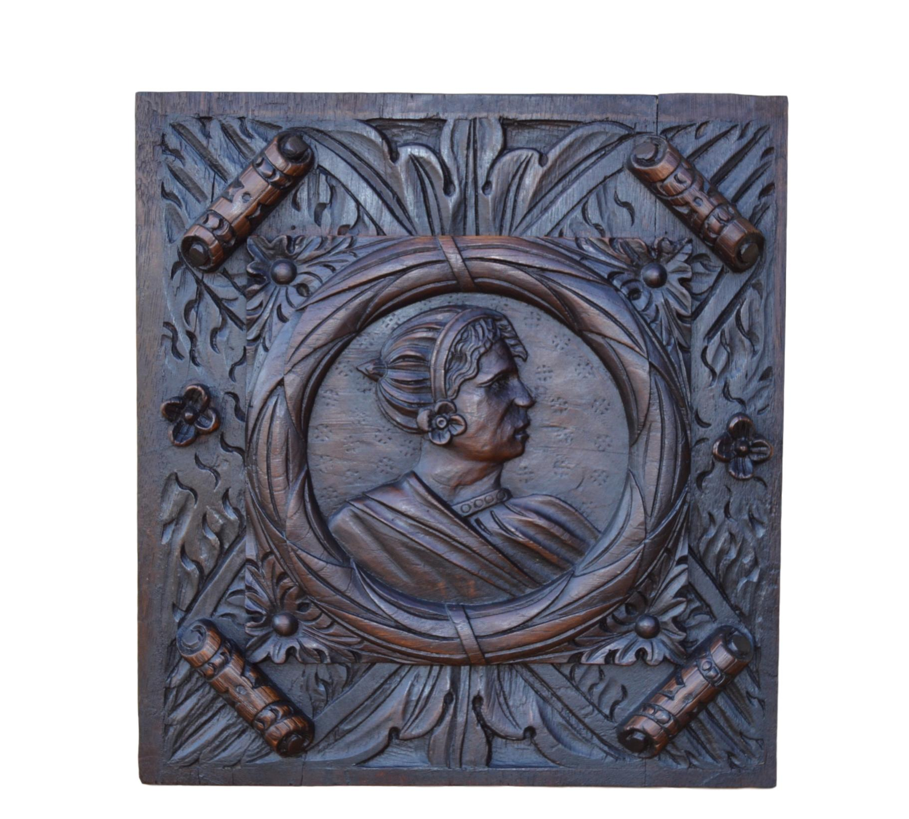 17th Wood Panel - Charmantiques