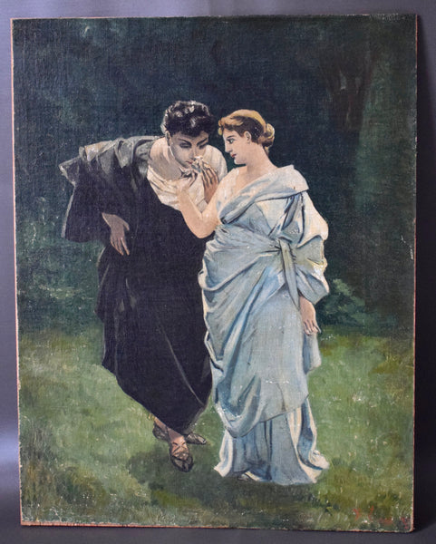 Romantic Oil Painting - Charmantiques