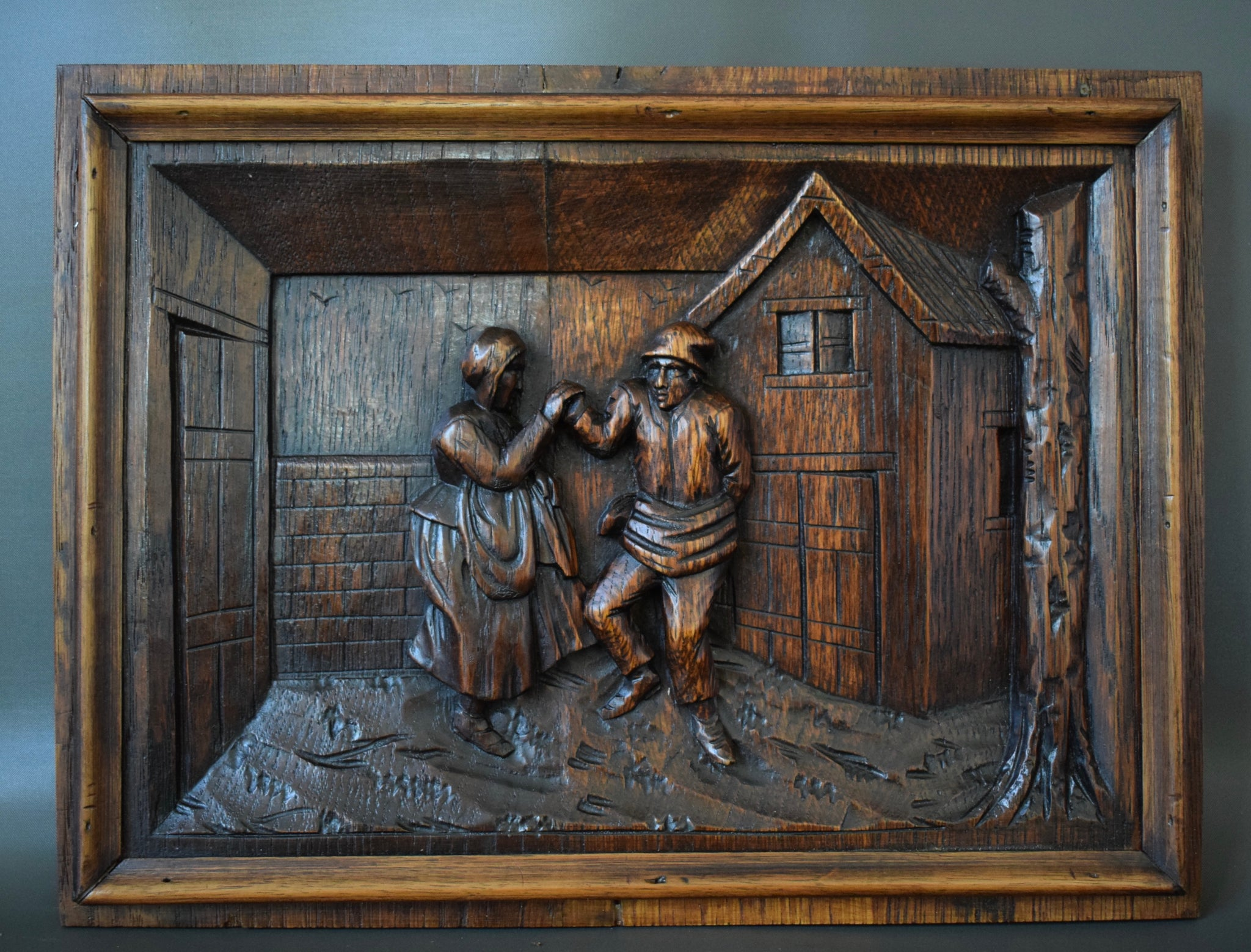 Dancing Couple Panel - Charmantiques