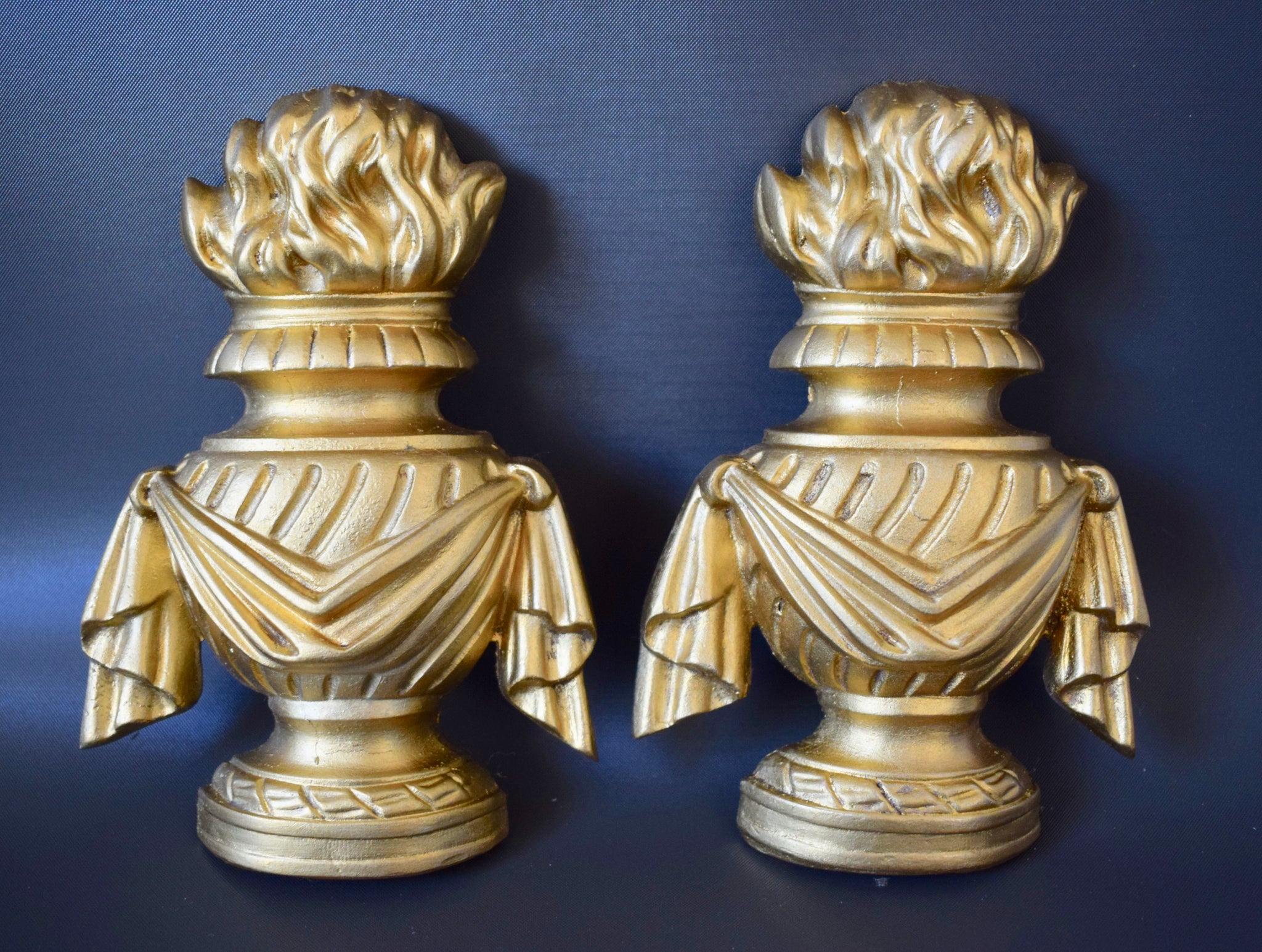 Fire Bowl Pediment - Charmantiques