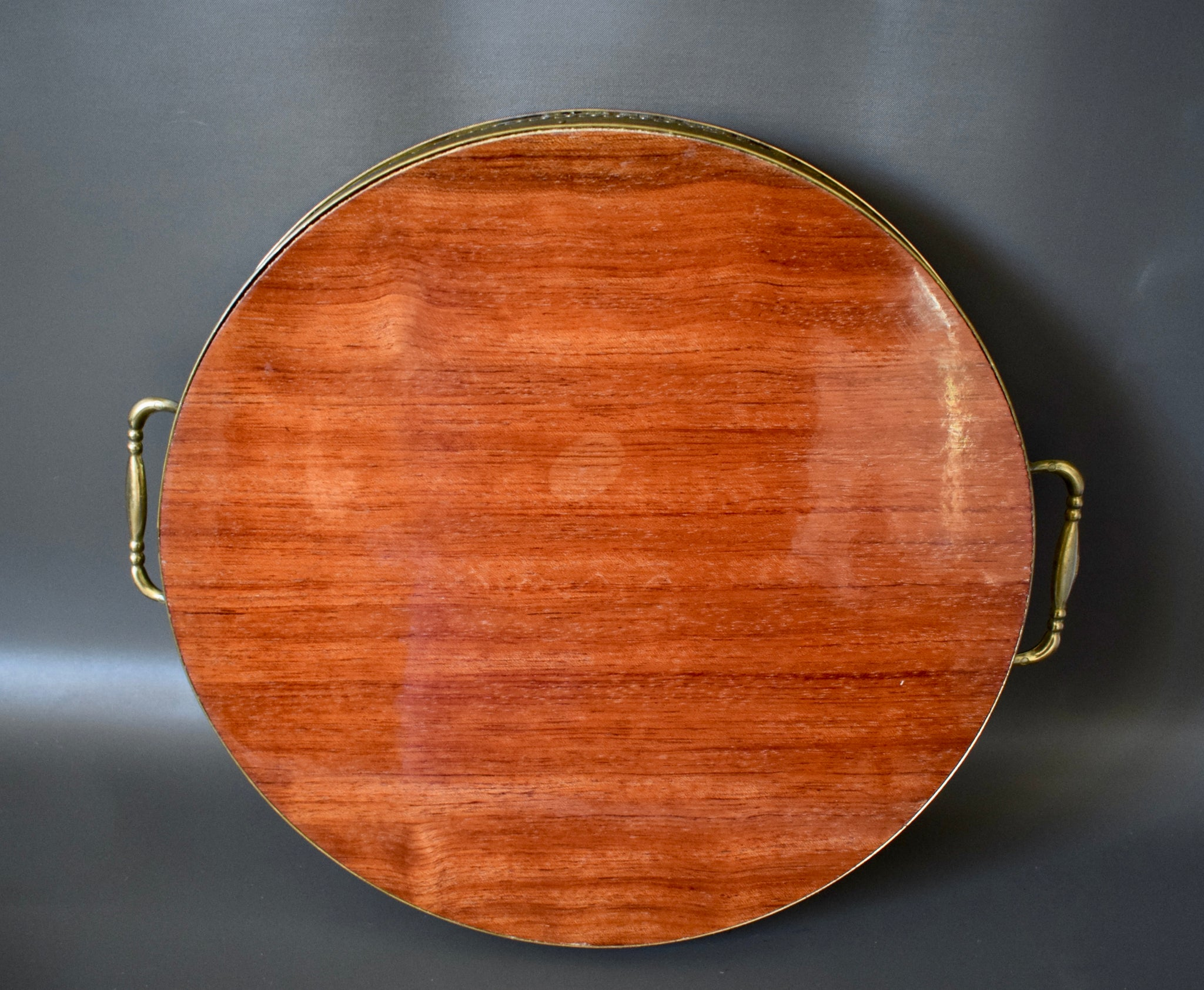 Marquetry Tray - Charmantiques
