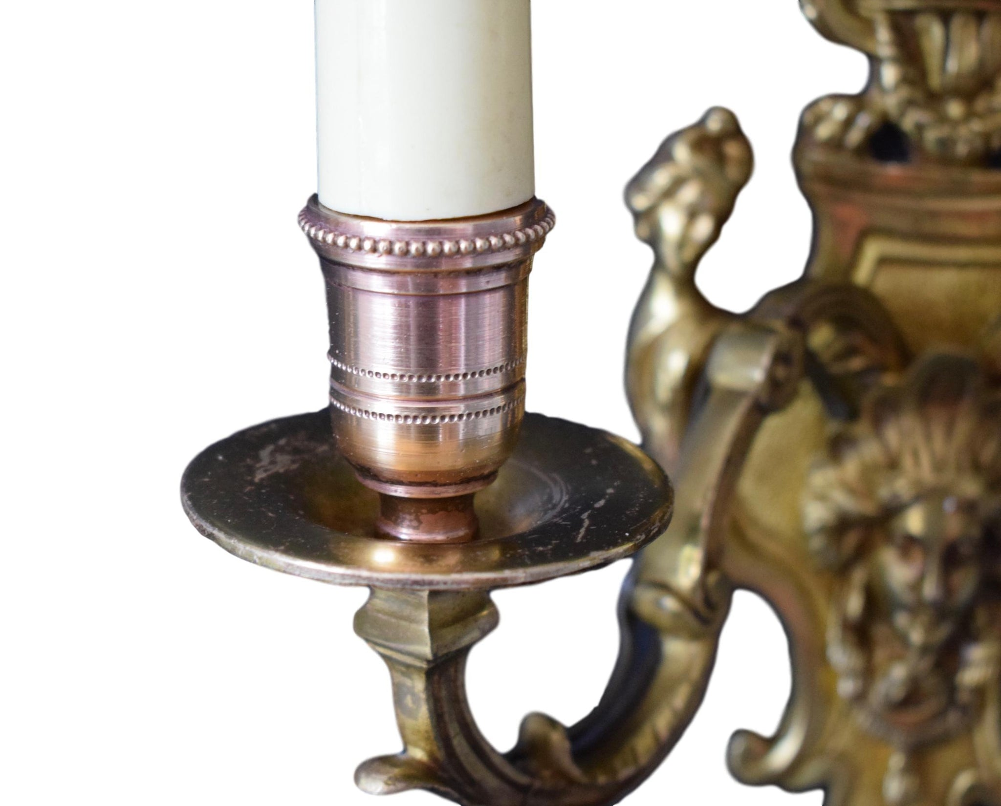 Regency Pair of Wall Sconces - Charmantiques
