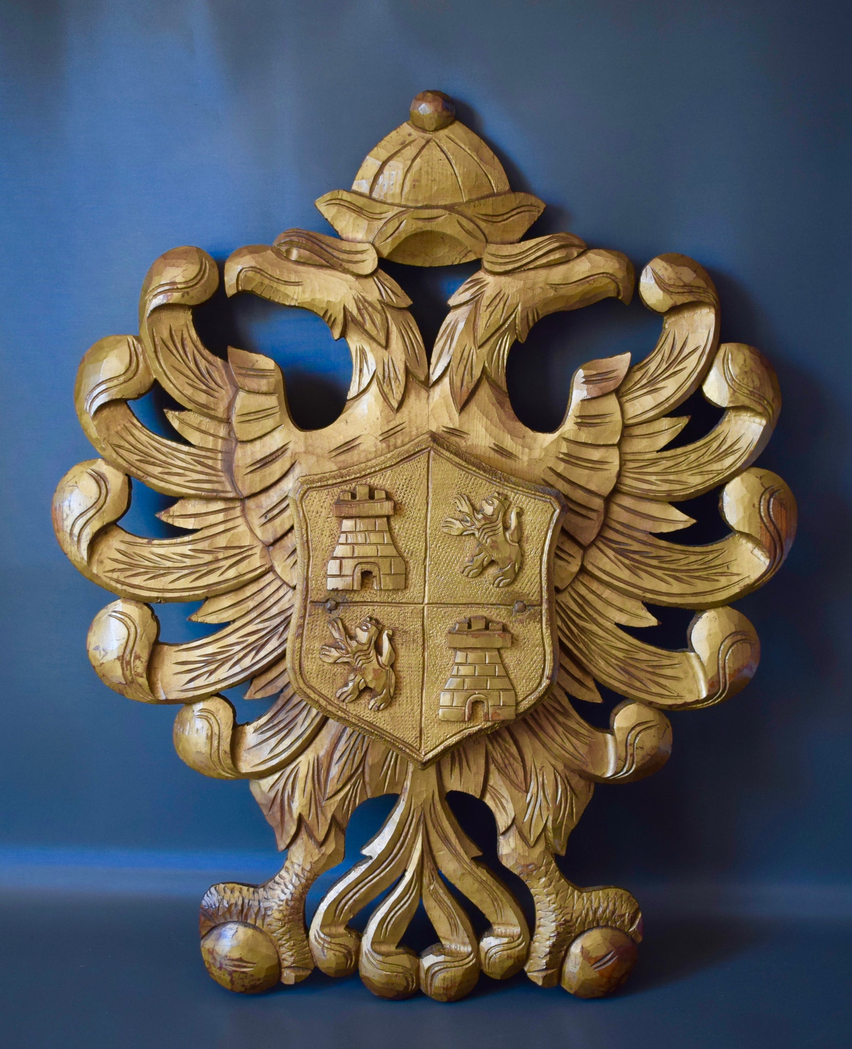Gold Toledo Coat Of Arms - Charmantiques