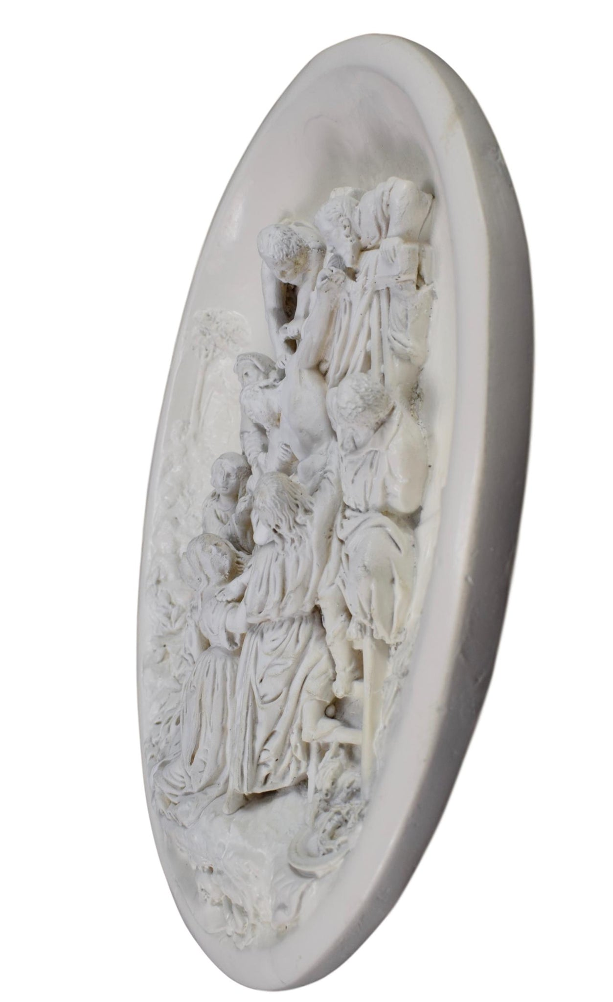 Carved Wall Plaque Meerschaum - Charmantiques