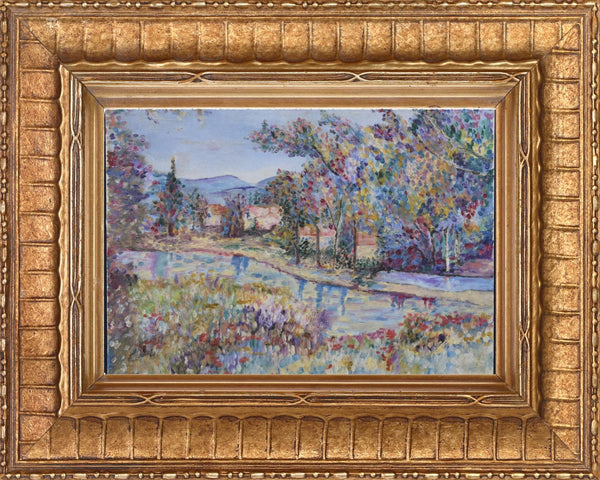 Pointillist Style Painting - Charmantiques
