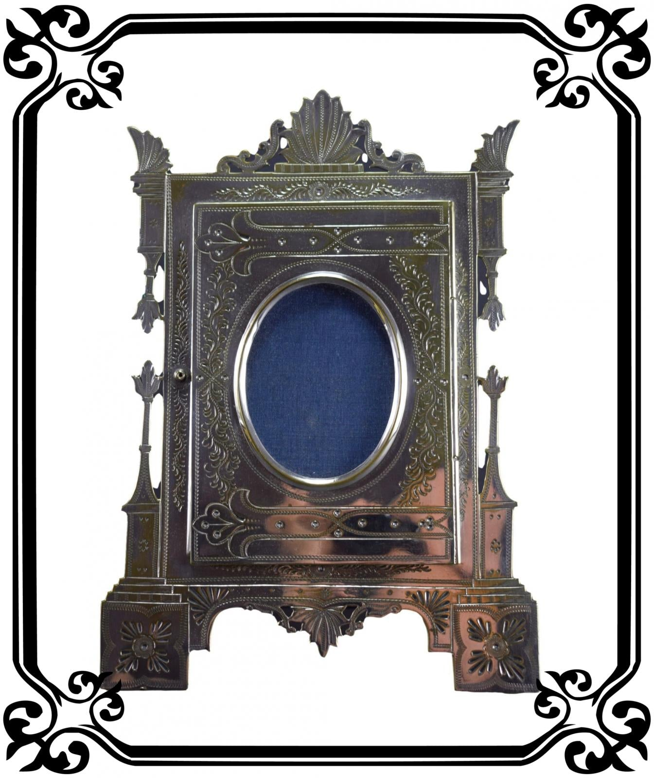 Vintage French Antique Photo frame 19th 1880