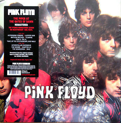 Pink Floyd - Piper At The Gates Of Dawn - Remastered Reissue - 180G Vinyl LP