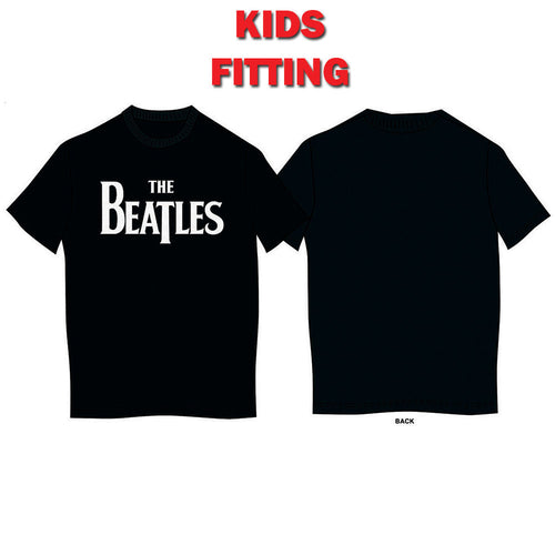 THE BEATLES KID'S TEE: DROP T LOGO