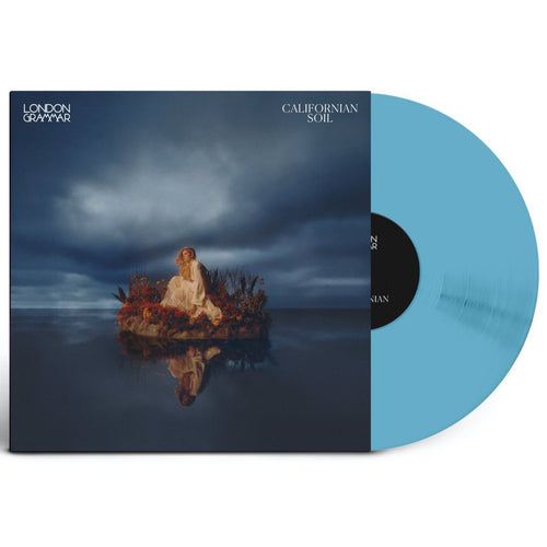 London Grammar - Californian Soil - Indie Exclusive Transparent Blue Eco Mix Vinyl 1LP