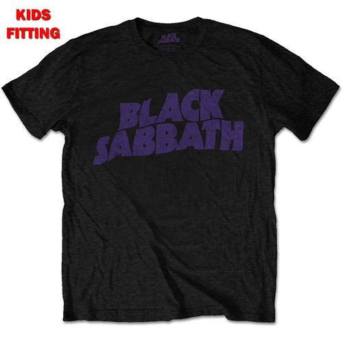BLACK SABBATH KID'S TEE: WAVY LOGO