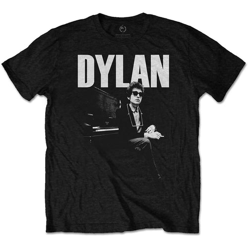 Bob Dylan - At Piano - Unisex Tee