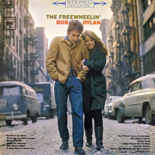Bob Dylan ‎– The Freewheelin' Bob Dylan - Mono - Vinyl LP w/ CD