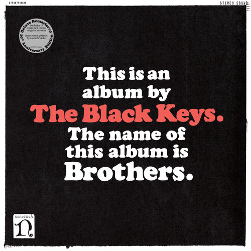 The Black Keys - Brothers - Deluxe Remastered Anniversary Reissue - 140G Black Vinyl 2LP