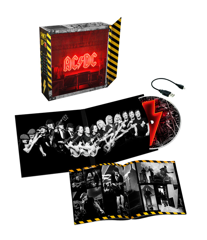 AC/DC - Power Up - Deluxe Light Box CD