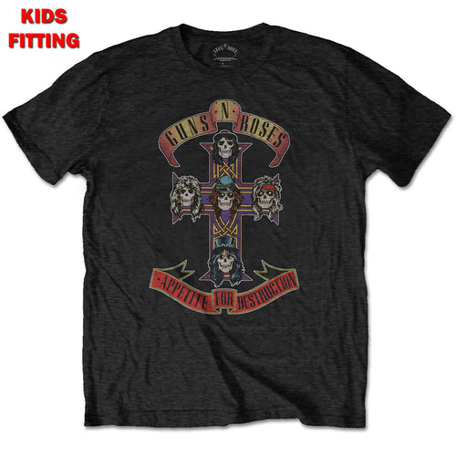 GUNS N' ROSES KID'S TEE: APPETITE FOR DESTRUCTION