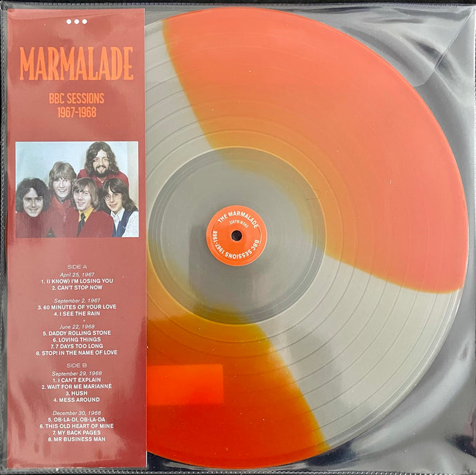 Marmalade ‎– Marmalade BBC 1965 -1968 -  Coloured Vinyl LP, 33 RPM Mono Limited Edition