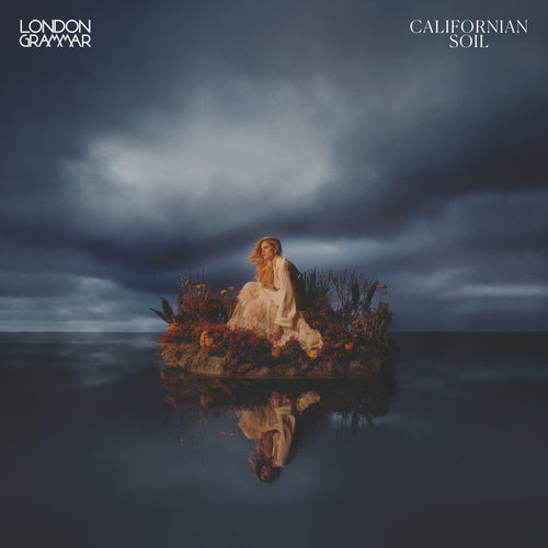London Grammar - Californian Soil - Deluxe Version with CD, 140 Gram White Eco Mix Vinyl, Blue 10