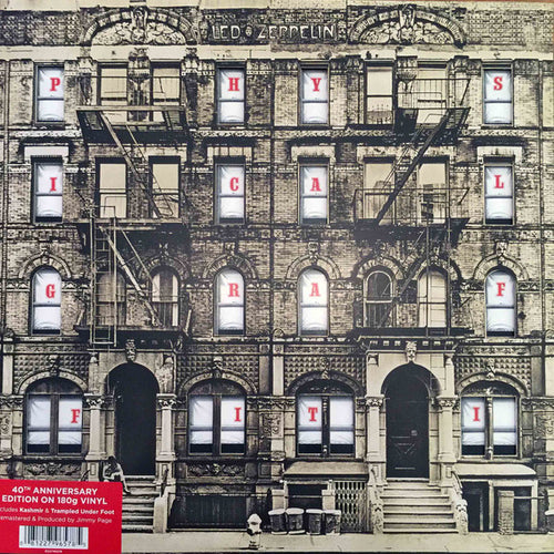 Led Zeppelin ‎– Physical Graffiti - 40th Anniversary Edition 180G Vinyl 2LP