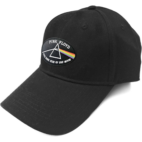 PINK FLOYD UNISEX BASEBALL CAP: THE DARK SIDE OF THE MOON BLACK BORDER