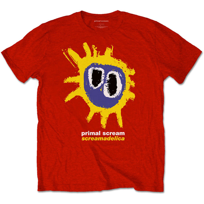 PRIMAL SCREAM UNISEX TEE: SCREAMADELICA