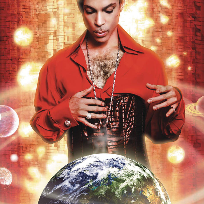 Prince - Planet Earth - Ltd Edition - Purple Vinyl LP w/ Lenticular Cover