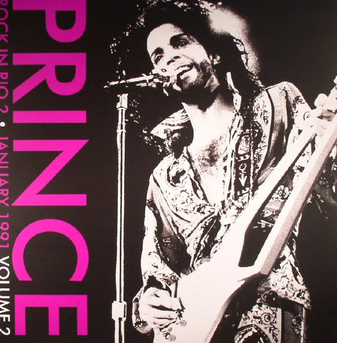 Prince ‎– Rock In Rio 2 • Volume 2 January 1991 - Limited Edition - Purple Vinyl LP