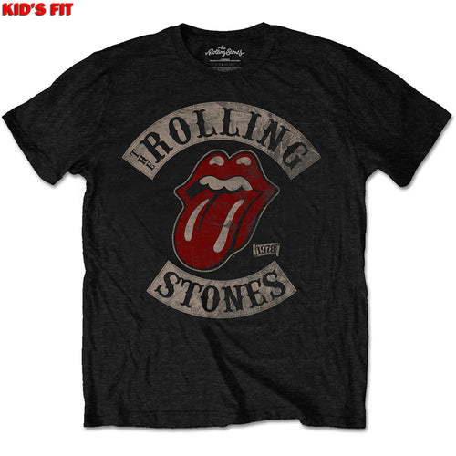 THE ROLLING STONES KID'S TEE: TOUR 78