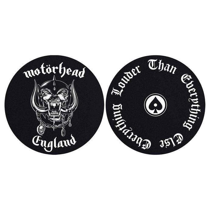 MOTORHEAD TURNTABLE SLIPMAT SET: ENGLAND