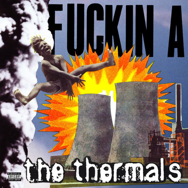 The Thermals ‎– Fuckin A - Black Vinyl LP