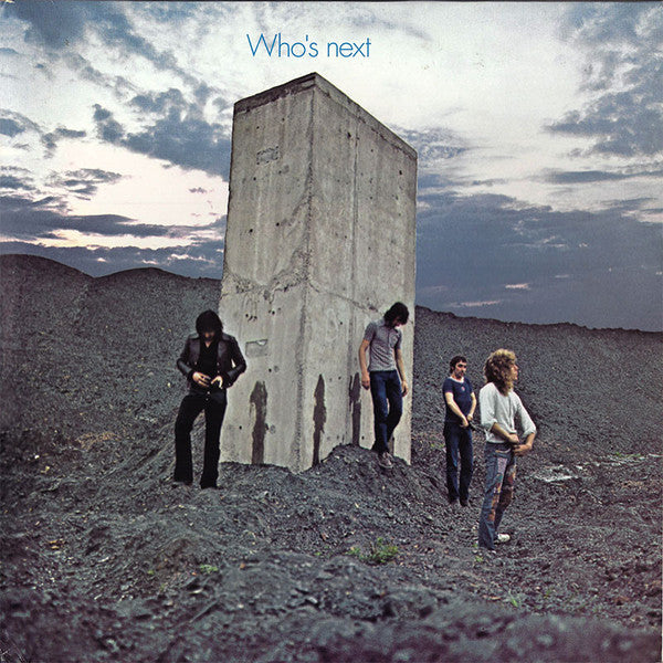 The Who ‎– Who's Next - Black Vinyl LP