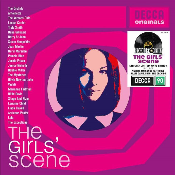 Various Artists - The Girls Scene - RSD20 Limited Edition Vinyl 2LP