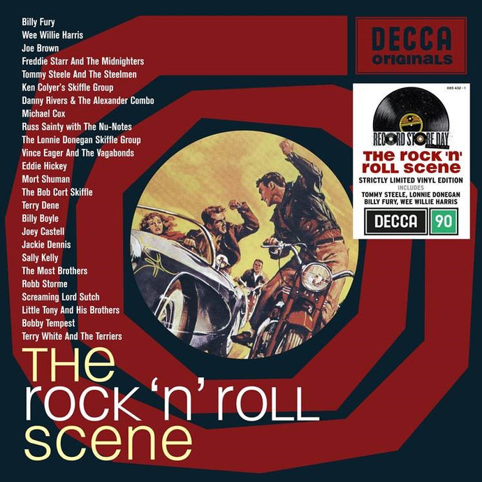 Various Artists - The Rock And Roll Scene - RSD20 Limited Edition Vinyl 2LP
