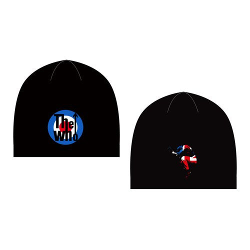 THE WHO UNISEX BEANIE HAT: TARGET & LEAP