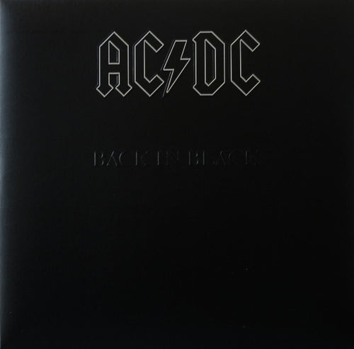 AC/DC ‎– Back In Black- Remastered - Vinyl LP