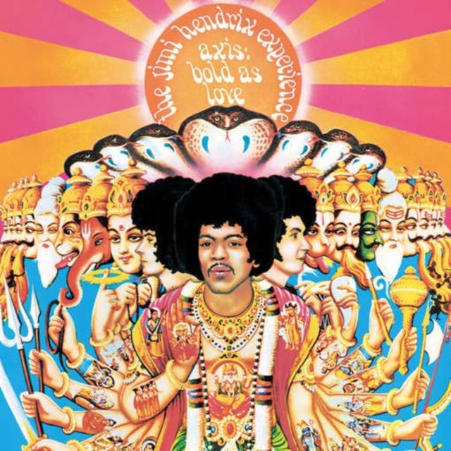 The Jimi Hendrix Experience ‎– Axis: Bold As Love - Vinyl LP