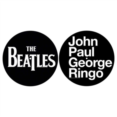 The Beatles - John, Paul, George, Ringo Slipmat x 2