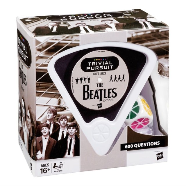 The Beatles - Trivial Pursuit Bite Size Board Game