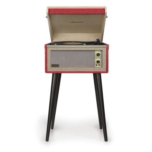 Crosley Dansette Bermuda Turntable - Red