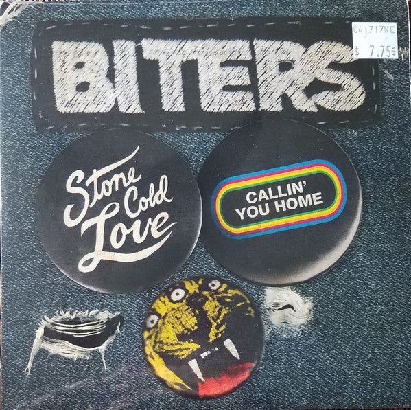 Biters ‎– Stone Cold Love / Callin' You Home - Ltd Edition - RSD17 Exclusive - 7