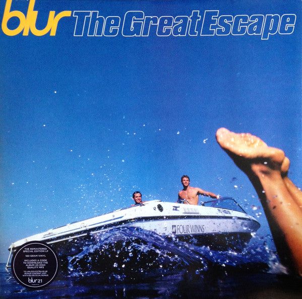 Blur ‎– The Great Escape - Remastered Reissue - Special Edition - 2 x Vinyl LP