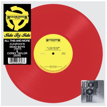 Corey Taylor / Dead Boys - All This And More - RSD20 Limited Edition Coloured Vinyl 12