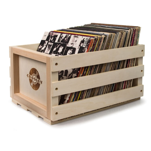 Crosley Record Storage Crate - Natural
