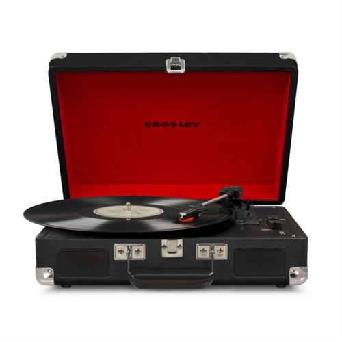 Crosley Cruiser Deluxe Turntable - Black