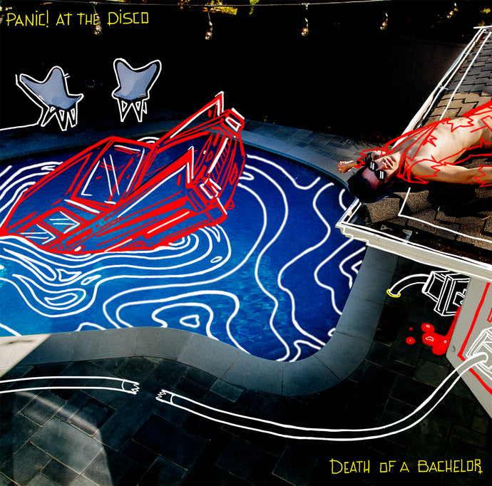 Panic! At The Disco  - Death of A Bachelor - Silver Vinyl LP