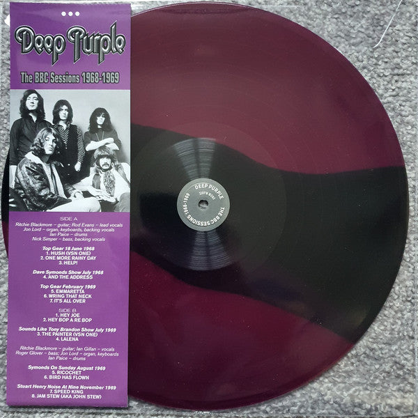 Deep Purple ‎– The BBC Sessions 1968 - 1969 -  Coloured Vinyl LP, 33 RPM Mono Limited Edition