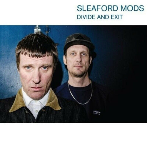 Sleaford Mods - Divide And Exit - Transparent Blue Vinyl LP