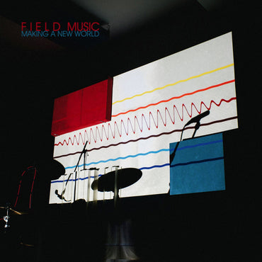 Field Music - Making a New World - Limited Edition 180G Clear Red Vinyl LP with Signed Print
