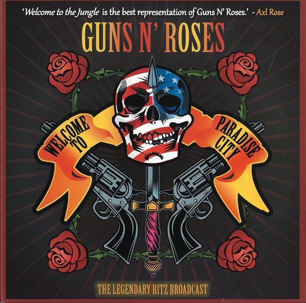Guns N' Roses ‎– Welcome To A Night At The Ritz - Numbered Limited Edition Orange Splatter Vinyl 2 x 10