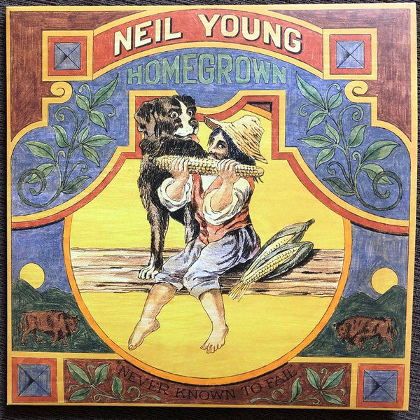 Neil Young ‎– Homegrown - Black Vinyl LP