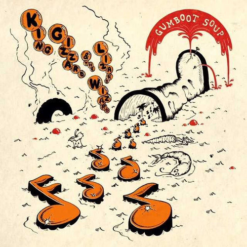 King Gizzard and The Lizard Wizard - Gumboot Soup - Limited Edition - Orange Vinyl LP